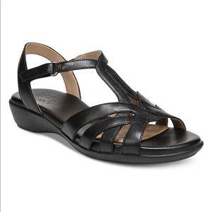 Naturalizer Nella Womens Sandals shoes 8 M black